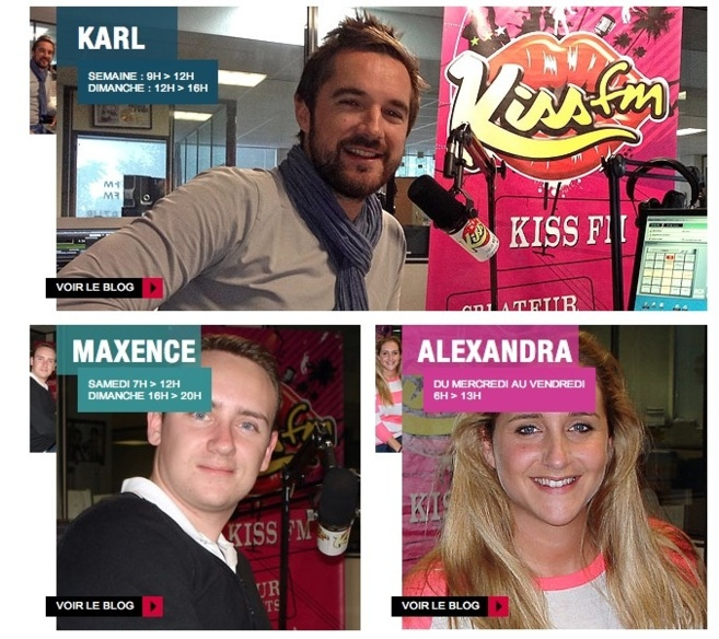 Relooking pour Kiss FM