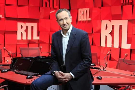 Tous les quarts d'heure de RTL entre 7h et 9h sont à la hausse d'une année sur l'autre