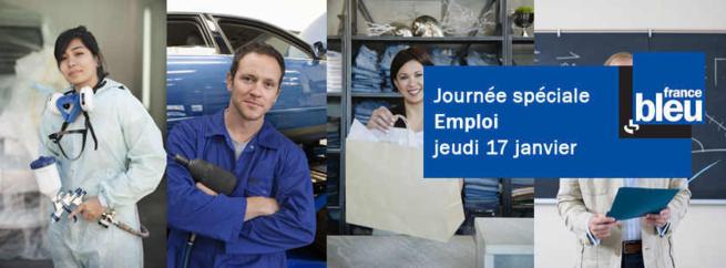 Priorité à l'emploi sur France Bleu