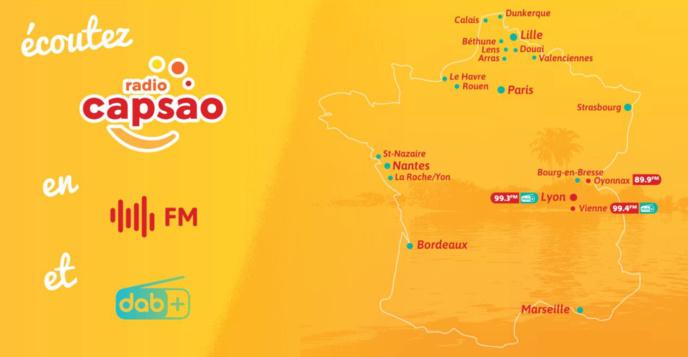 DAB+ : Radio Capsao désormais diffusée à Bordeaux