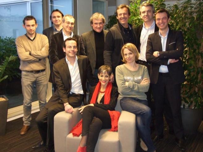 Le jury des Jeunes Talents de la Radio, vendredi à Médiamétrie