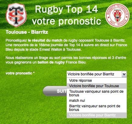 La Lettre Pro de la Radio parie sur une victoire bonifiée de Toulouse
