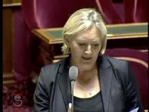 La Sénatrice Catherine Morin-Desailly