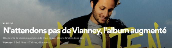 Spotify annonce le premier album augmenté pour un artiste français
