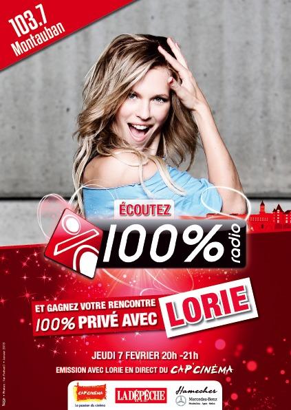 100 % reçoit Lorie