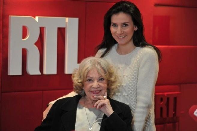 Jeanne Moreau et Marie Drucker ce dimanche à 13h30 sur RTL Crédit photo – Acaba Press/RTL
