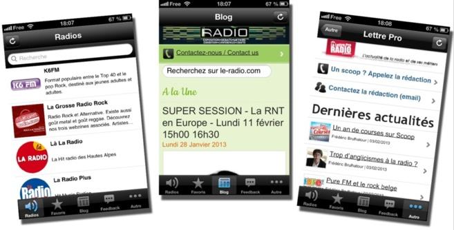 Le RADIO 2013 : soyez mobiles !