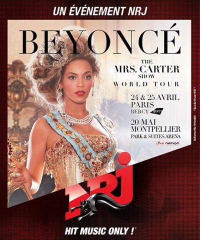 NRJ partenaire de Beyonce