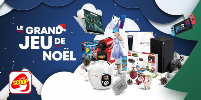 Radio Scoop organise son grand jeu de Noël