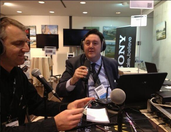 Philippe Chapot interrogé par Maxi L'Air à quelques minutes de l'ouverture