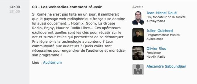 Coup d'envoi du salon Le RADIO
