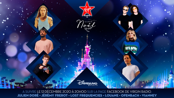 Virgin Radio : un concert inédit à Disneyland Paris