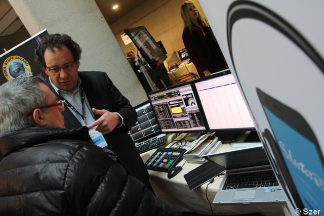 Lionel Guiffant de RCS rencontre les clients