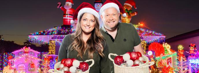 Belgique : NRJ décore la maison d'un auditeur pour Noël