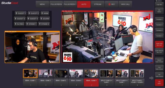 NRJ choisit StudioCast pour enrichir son contenu vidéo
