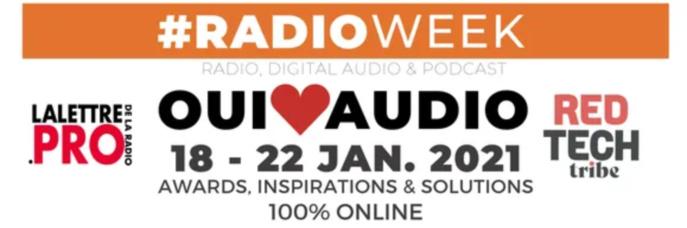 Pas de Salon de la Radio en 2021 mais une #RadioWeek