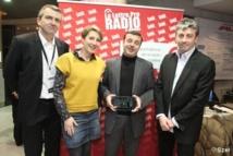 Le Prix ON'R de la radio musicale de l'année 2012 est revenu à Oüi FM