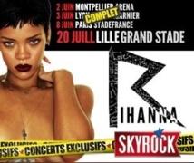 Skyrock affole les fans de Rihanna