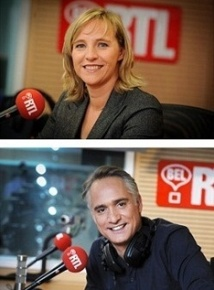 Barbara Mertens et Thomas van Hamme animent le Morning Bel RTL Matin
