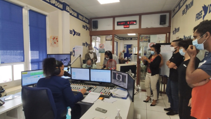 Le nouveau studio de Radio Free Dom installé en 2020