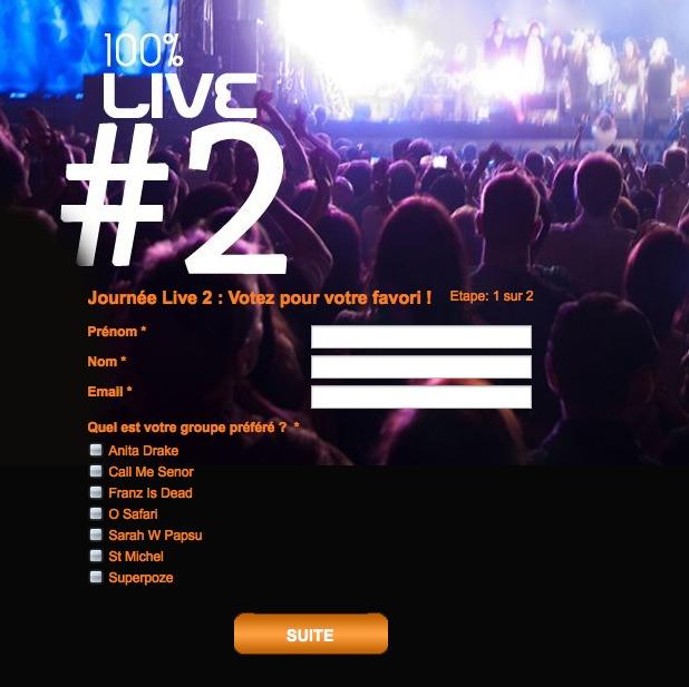L'auditeur peut voter via le site du Mouv'