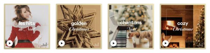 Deezer propose tout un univers musical pour célébrer Noël