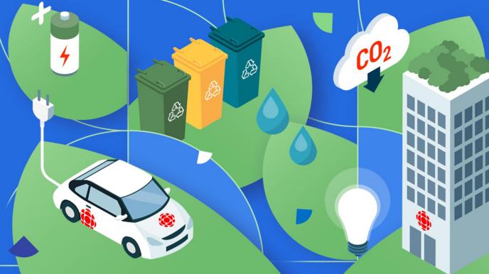 CBC/Radio-Canada publie son rapport de performance environnementale