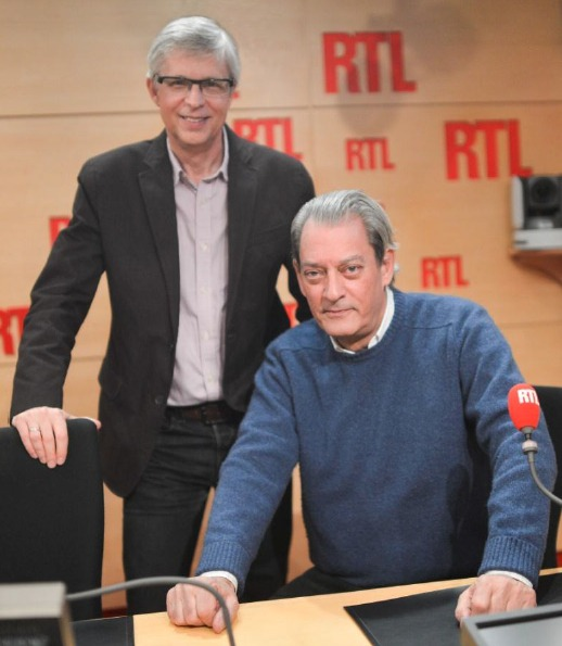 Bernard Lehutet Paul Auster sur RTL Crédit photo : Abacapress /RTL