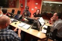 Les Seigneurs » avec Omar Sy et José Garcia - Crédit photo : Abacapress /RTL