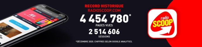 Un nouveau record historique pour RadioScoop.com