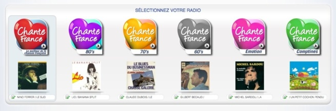 Des webradios pour Chante France