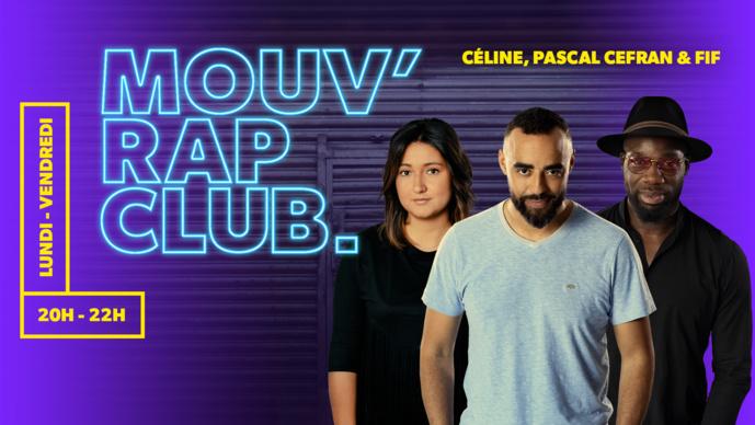 Mouv' Rap Club en direct de La Place