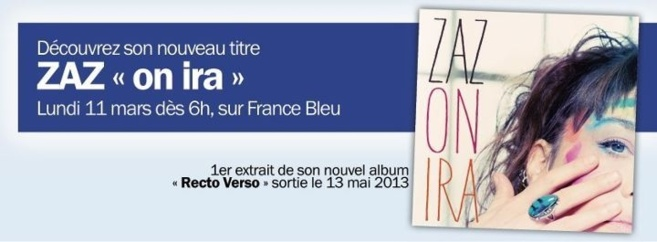 Zaz sur France Bleu