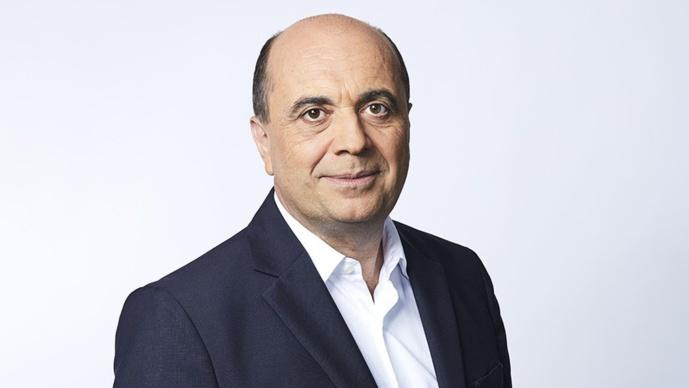 Hervé Beroud, le directeur général délégué de  Altice Média