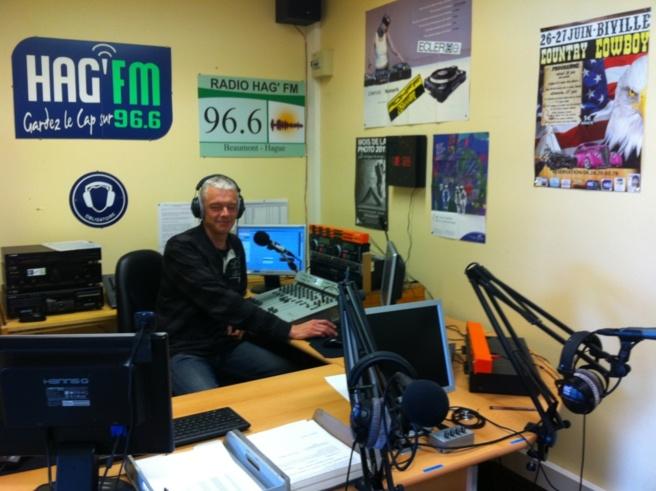 Ludovic Loir aux commandes de HAG'FM