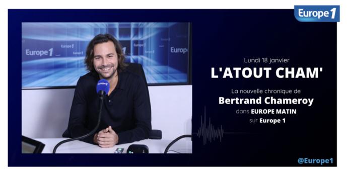 Bertrand Chameroy rejoint la matinale d'Europe 1