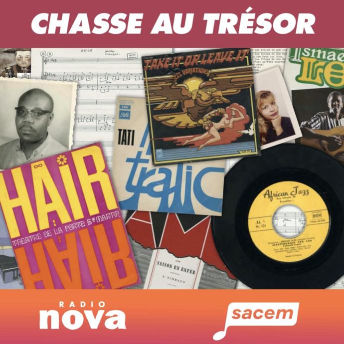 """La Sacem et Radio Nova lancent le podcast natif """"Chasse au trésor"""""""