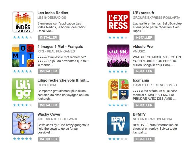 Les Indés Radios sur Google Play