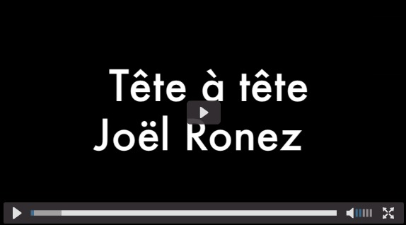 (Vidéo) Tête à tête avec Joël Ronez