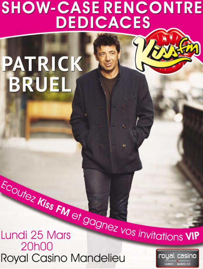 Patrick Bruel s'invite sur Kiss FM