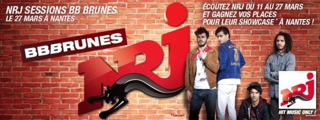 NRJ reçoit les BB Brunes à Nantes