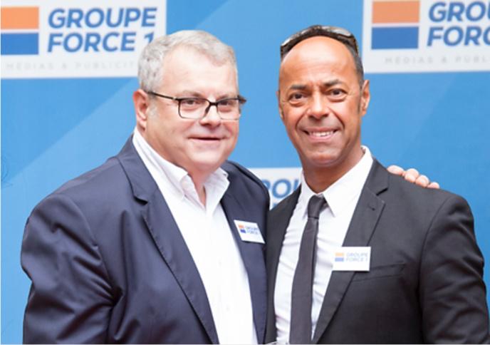 Philippe Devilier, président du Groupe Force One en compagnie de Malik Duroy directeur du développement commercial.