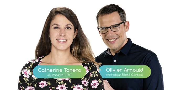 Catherine Tonero (RTBF) et Olivier Arnould (Radio Contact) présenteront, en direct, ce Digital Radio Day 2021