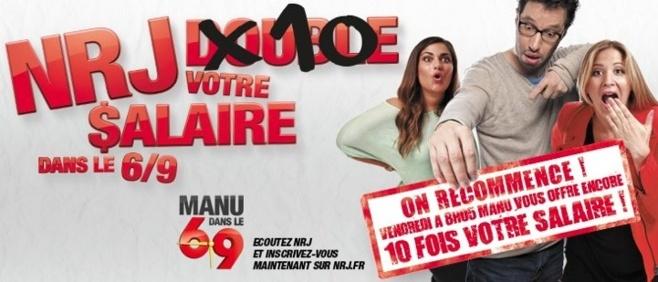 NRJ : 15 510 € pour Gwendoline