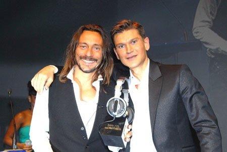 Bob Sinclar et Antoine Baduel