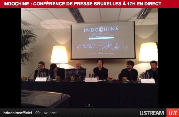 RTL2 : Indochine en live vidéo