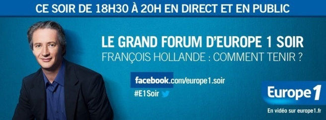 Le Grand Forum Europe 1 Soir
