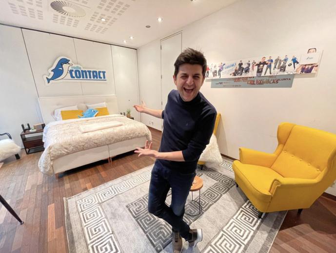 Saint-Valentin : l'hôtel Radio Contact ouvre ses portes