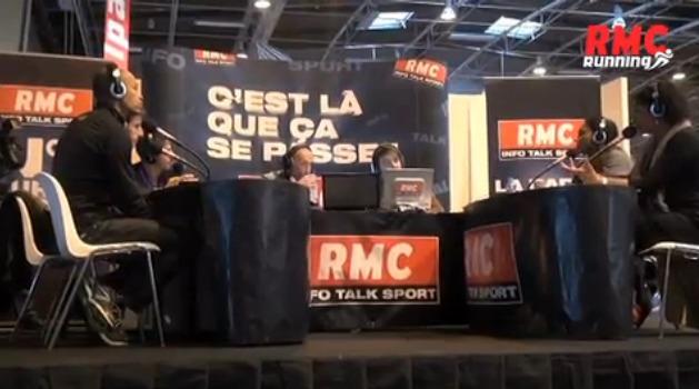 Hier, les Grandes gueules du Sport étaient en direct du Running Expo Porte de Versailles