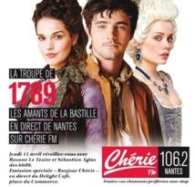 Chérie FM Nantes reçoit 1789